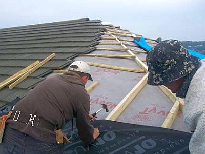 Капитальный ремонт начинается с полного демонтажа старого покрытия