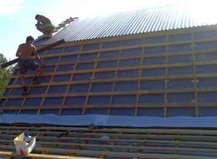 В некоторых случаях требуется полный демонтаж старого покрытия и замена его новым